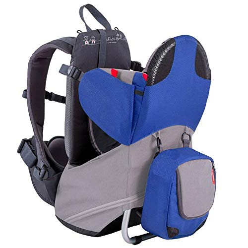 Amazing Deal ZHOUHUAW Child Carrier Backpack, Camping Baby Carrier, Holds up to 40 Pound, for Children Between 6 Months-3 Years Old,Blue