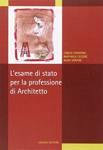 L'esame di stato per la professione di architetto