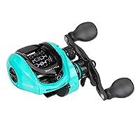 バスダッシュ (Bassdash) リール ベイトリール SpiritFox 軽量162g ギア比6.6:1 海釣りと淡水釣り両用 左ハンドル