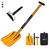 "Overmont Aluminum Sport Utility Shovel 3 Piece Collapsible Design 26"" –..."