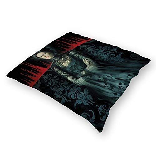 Qualet Penny Dreadful Plush Cloth Pillow Covers Decorative 18X18 in Pillowcase Cushion Covers