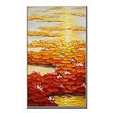 Desconocido Generic Espátula Paisaje Arte 100% Lienzo Pintado a Mano Pintura al óleo imágenes para decoración de salón