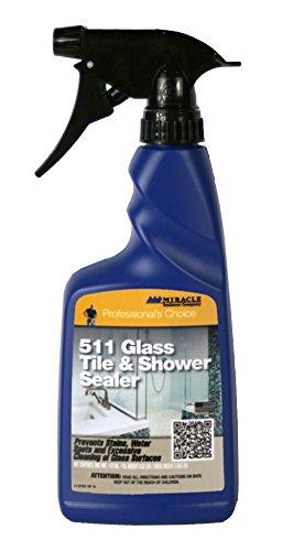 Miracle Sealants 511 Glass Tile & Shower Door Sealer 16oz