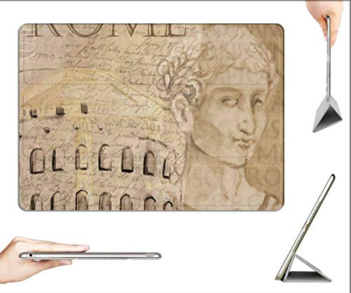 Case for iPad Pro 12.9 inch 2020 & 2018 - Colosseum Rome Caesar Background Italy Europe