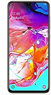 Samsung Galaxy A70 Dual SIM 128GB 6GB RAM 4G LTE (UAE Version) - Orange - 1 year local brand warranty