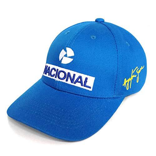 VGFTP® Ayrton Senna Gorra de béisbol Hombre Moda Cool Bordado Ayrton Senna Sombreros Ajustable Algodón Papá Gorras