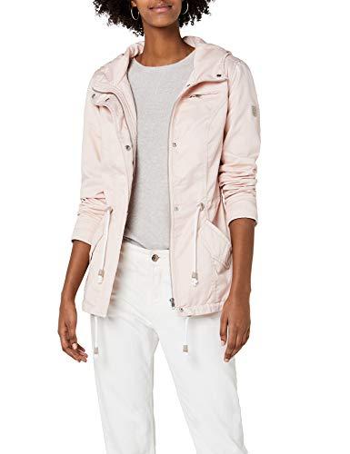ONLY Damen Onlnew Lorca Spring Jacket CC OTW Parka, Rosa (Cameo Rose Cameo Rose), 36 (Herstellergröße: S)