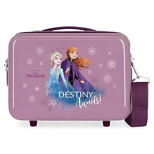 Disney Frozen Destiny awaits Zaino portaon carrello Viola 29x21x15 cms ABS