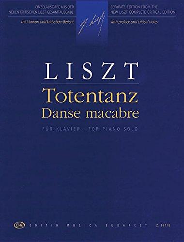 Totentanz - Danse Macabre: Piano Solo