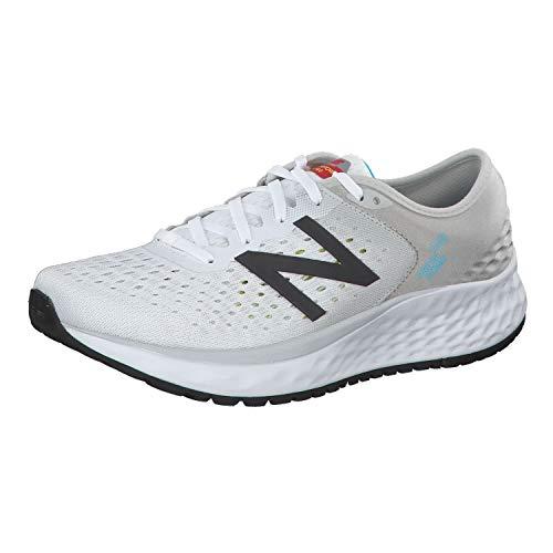 New Balance Men's 1080v9 Fresh Foam Running Shoe, Summer Fog/Black, 16 M US