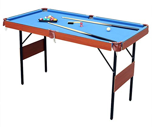 hlc 55' Folding Space Saver Pool Billiard Table