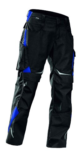 Kübler Bundhose Pulsschlag High Arbeitshose 1324 schwarz/kornblau 110 110,schwarz/kornblau