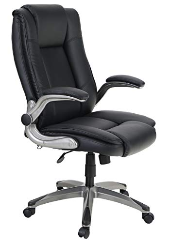 Sophia & William PU Leather Rocking Home Office Desk Chair...