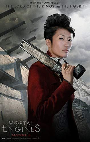 Mortal Engines Movie Poster 18'' x 28 FINESTPRINT88