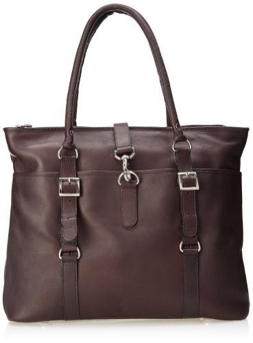 Claire Chase Ladies Computer Handbag, Cafe, One Size