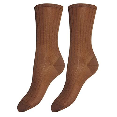 Bianchi Sockmaker in Italy since 1932 - Kurze Socken aus Seide, für Damen, Mehrfarbig 36-38