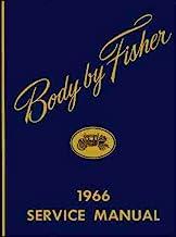1966 CHEVROLET GM FISHER BODY REPAIR SHOP & SERVICE MANUAL - INCLUDES: Camaro, Corvair, Chevy II, Nova, Chevelle, Malibu, ...