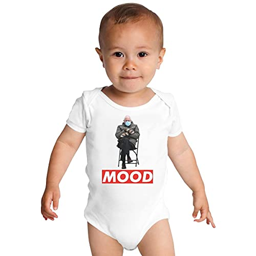 Huang Bernie Sanders Inaugurazione Day Meme Baby Onesies bianco 2 mesi