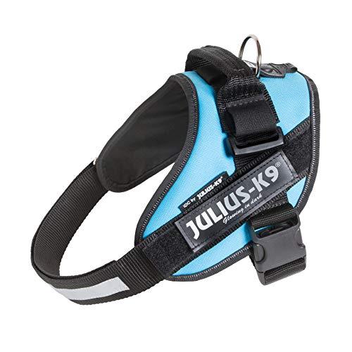 Julius-K9, 16IDC-AM-0, IDC-Powergeschirr, Hundegeschirr, Größe: 0, aquamarine