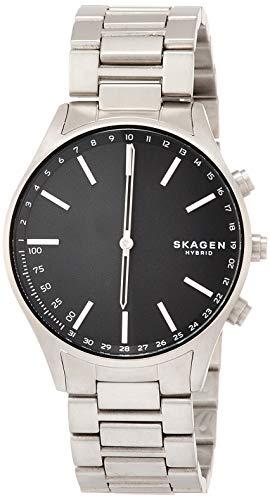 Skagen Unleashed Hybrid Silber/Grau Edelstahl Herren-Uhren SKT1305