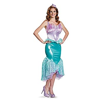 Disguise Women s Ariel Deluxe Adult Costume Multi Large