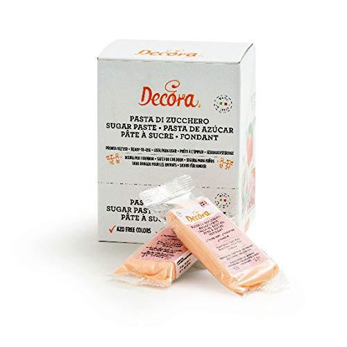 Decora Pasta di Zucchero Rosa Carne - 100 g
