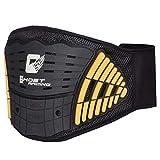 COOFIT Rückenstütze Verstellbarer Taillenschutz Lordosenstütze für Motorrad