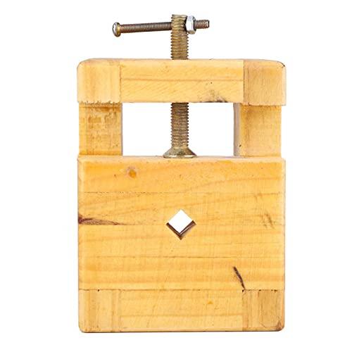 Práctico alicates planos duraderos 1 pieza de madera y acero para tallar (cama grande con sello grabado)
