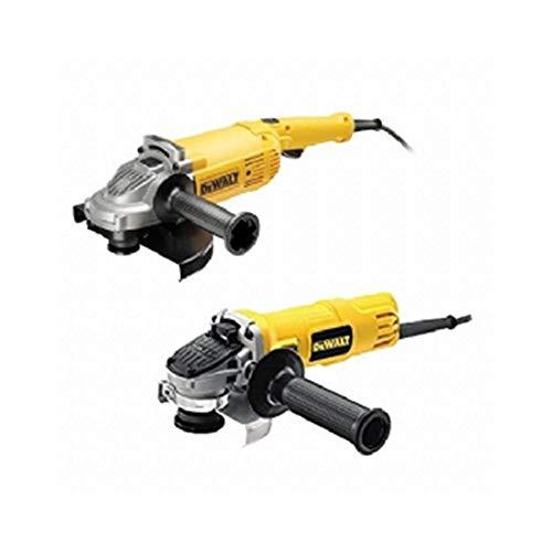 DeWalt CPROF189 CPROF189-KIT Amoladoras = DWE490 230mm 2.000W + DWE4056 115mm 800W Suave, Bloqueo y re-Arranque
