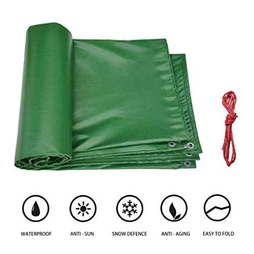 Nologo Hoja de Servicio Pesado Lonas de protección GreenTarps contra el Encogimiento, Impermeable, Anti-UV, Hoja Anti-Rust Lona de plástico for la Tienda del pabellón o Cubierta de la Piscina BTZHY