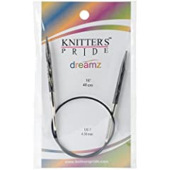 "Dreamz Fixed Circular Needles 16""-Size 7/4.5mm The product is manufactured in India The line is offered in a full range of 11 radiant colors"