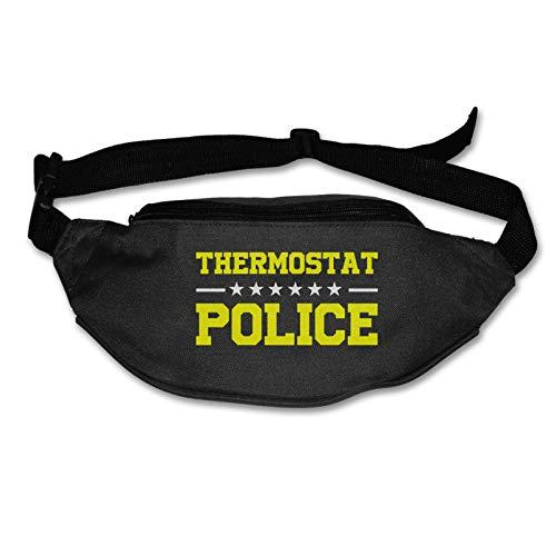 Tvox8x Termostato Policía Resistente al Agua Corredores Cinturón Cintura Pack Para Hombres Mujeres Jogging Senderismo Fitness