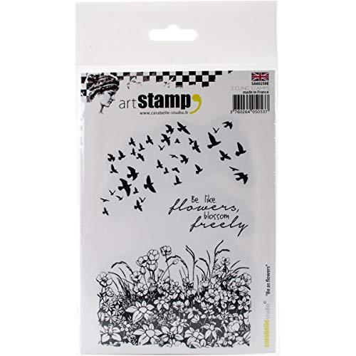 Cr/éation de Cartes et Scrapbooks Carabelle Studio Tampon Cling de Art pour Les Projets Demboutissage Calavera