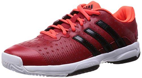 adidas Barricade Team 4, Chaussures de Tennis Homme, Rouge (xj Powred/CBL), 36 2/3 EU