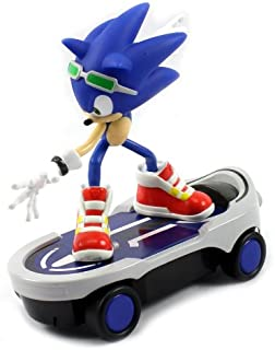 Velocity Toys Sonic Free Riders Sonic The Hedgehog Skateboard Electric RC Car RTR