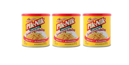 Pik-Nik Original Shoestring Potatoes 113g, 3 Pack