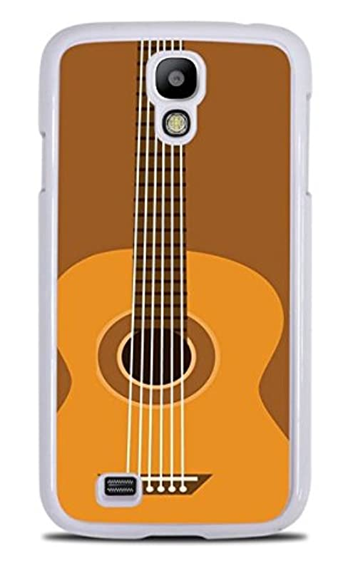 Acoustic Guitar White Hardshell Case for Samsung Galaxy S4