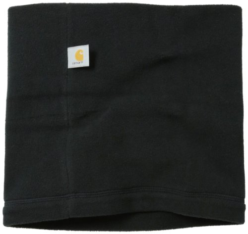 Carhartt Men's Fleece Neck Gaiter, Black, One Size