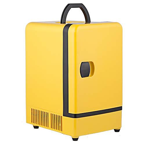 12V 7L Mini Voiture Réfrigérateur Congélateur Cooler Warmer Portable Ou Réfrigérateur Usage À La Maison, Peut Contenir 9 Boîtes 330Ml Boissons, Pour Pique-Nique Beauté Boisson Alimentaire