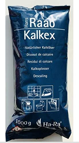 Ha-Ra 1 Kg Nachfüllpackung KALKEX zum Entkalken 1000 g