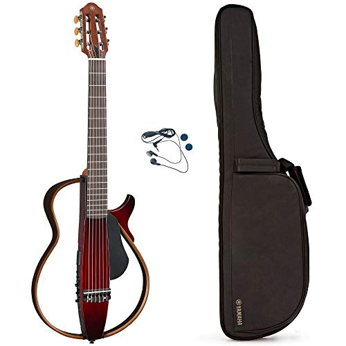 ヤマハ YAMAHA サイレントギター クリムゾンレッドバースト SLG200N CRB ナイロン弦