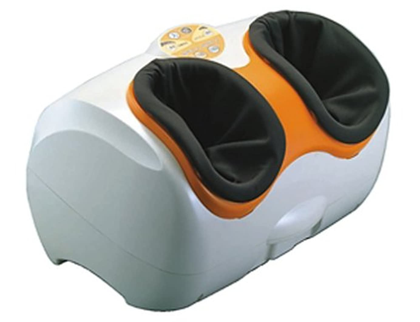 評論家昼食影のある丸隆 フットマッサージャー フィットFooTキュット オレンジ RA-01O