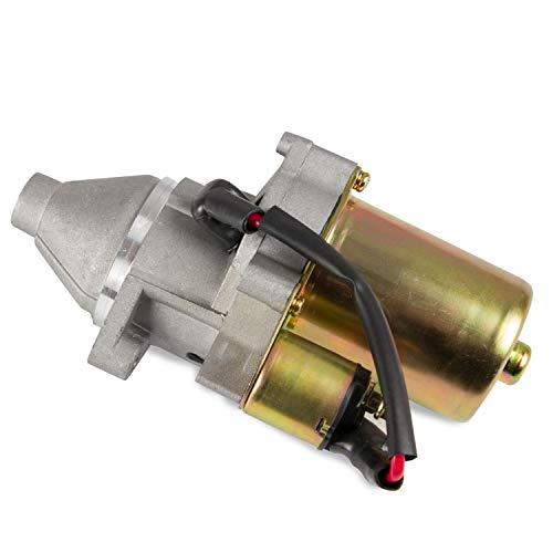 Starter Motor Compatible with Afron, Allmand, Ditch Witch, Toro TX-413 2004-08 Honda 13HP Gas, Honda GX340 GX390 GX420 11HP 13HP 16HP, Replaces 31210-ZB8-0130, 31210-ZE3-013, 31210-ZE3-023,DB5B6,DB5B8
