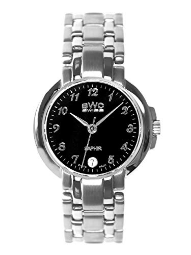 BWC 207735002 - Reloj analógico de Cuarzo con Correa de Acero Inoxidable para Mujer
