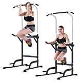 K KiNGKANG Pull Up Rack Power Tower Home Gym Pull-Up Station Dip Station Workout Equipment, T055CA