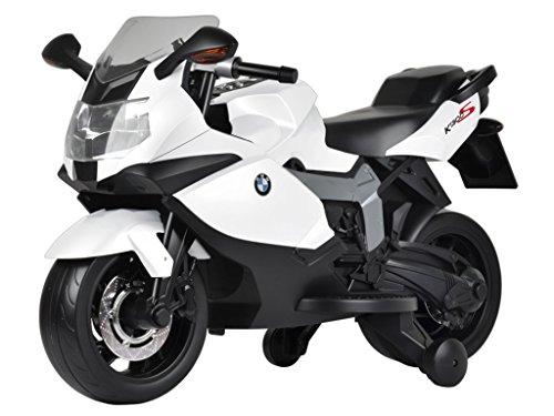 moto elettrica per bambini k1300S bianca