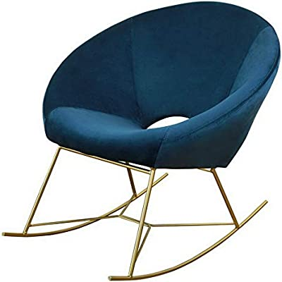 Hebel Nolan Velvet Rocking Accent Chair | Model CCNTCHR - 25 |