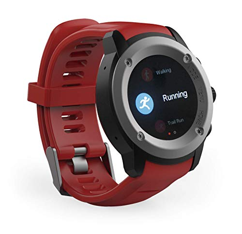 Ghia Smart Watch Draco, 1.3 Touch, Heart Rate, Bt, GPS, Rojo
