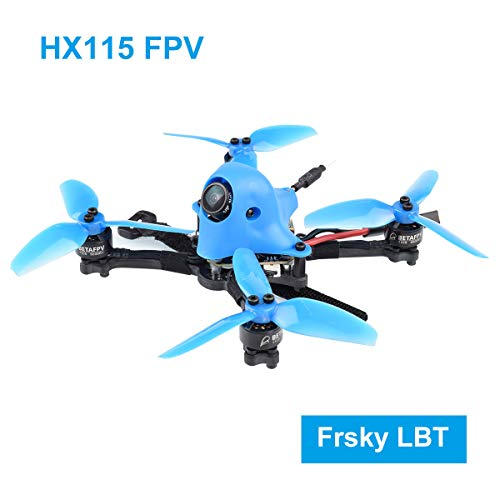 BETAFPV HX115 115mm 3-4S FPV Frsky LBT Toothpick Drone with F4 AIO 2-4S Toothpick FC Caddx Kangaroo Camera OSD Smart Audio A01 25mW 200mW Switchable VTX 1105 5000KV Motor for Micro FPV Drone