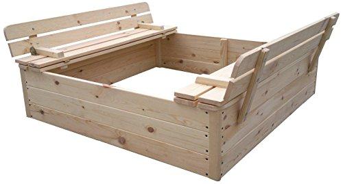 Outdoor Toys – zandbak hout (kt12812)